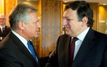 President Kwaśniewski attended the meeting with the President of the European Commission