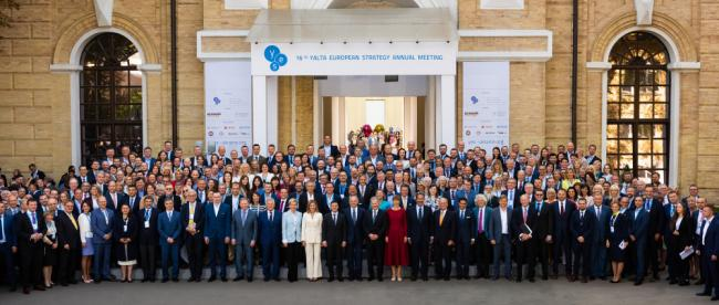 "The 16th Annual Meeting of Yalta European Strategy (YES) – ""Happiness Now. New Approaches for a World in Crisis""."