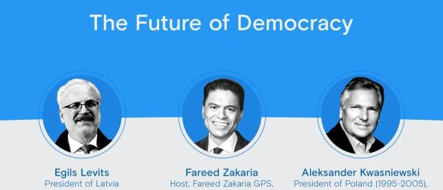 YES Online Conversation on the Future of Democracy